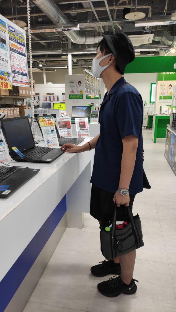 PCショップ 大須 パソコン工房 飯山のPCを購入