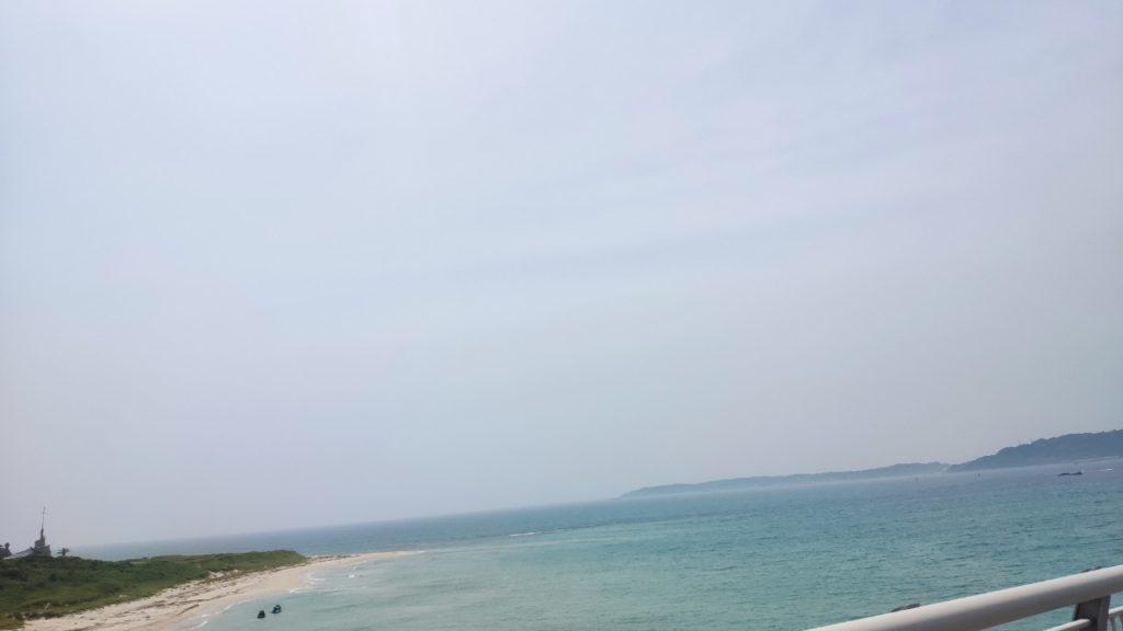 角島大橋からの風景