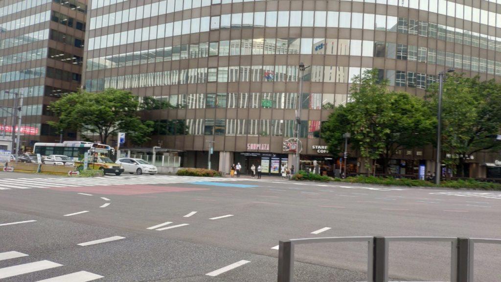 博多駅周辺の風景