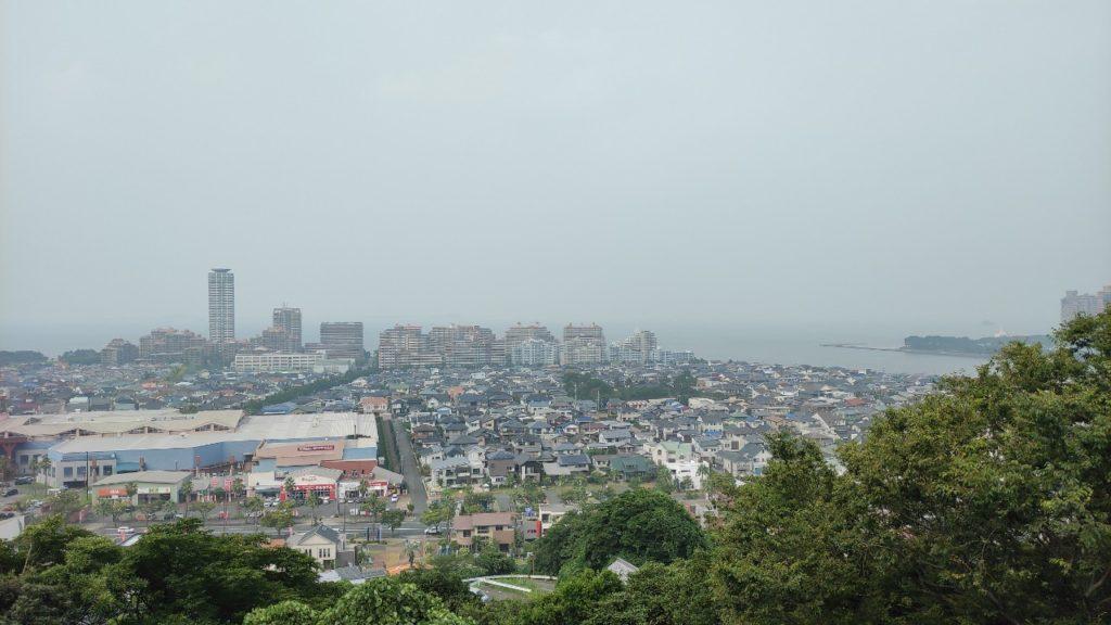 福岡愛宕神社からの眺め