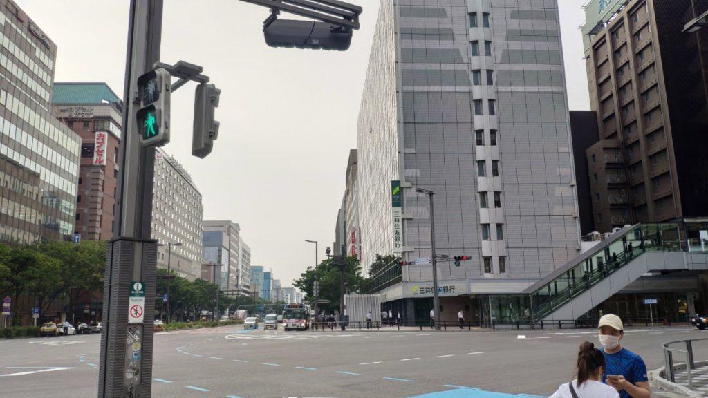 博多駅前の風景
