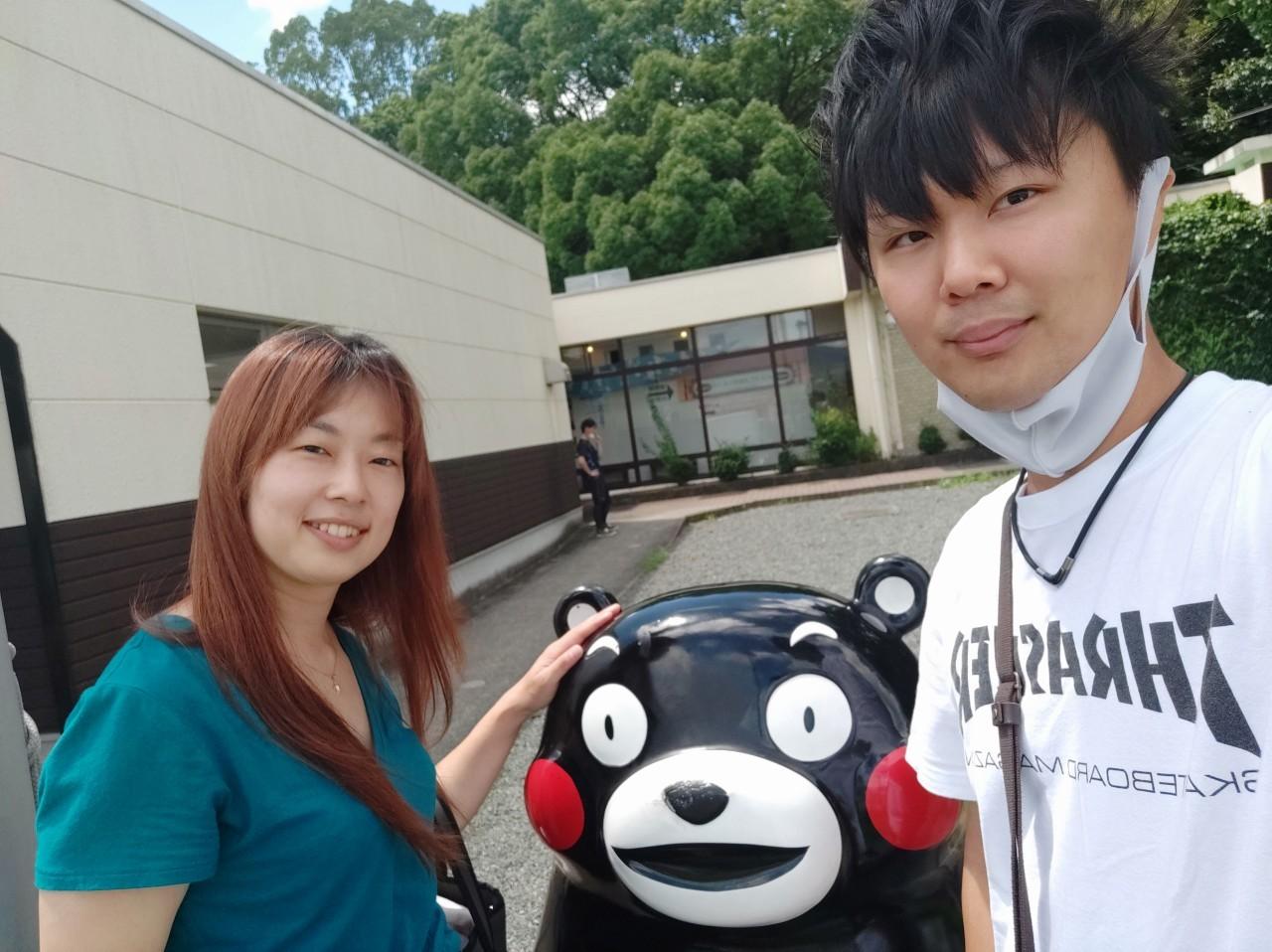 熊本のサービスエリアで