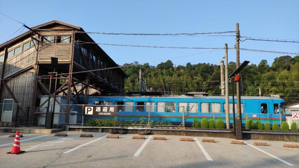 天橋立駅の駐車場