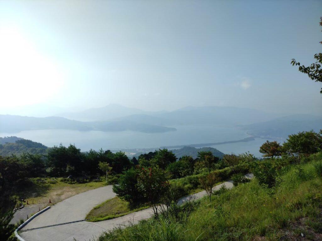 海の京都、成相寺からの天橋立
