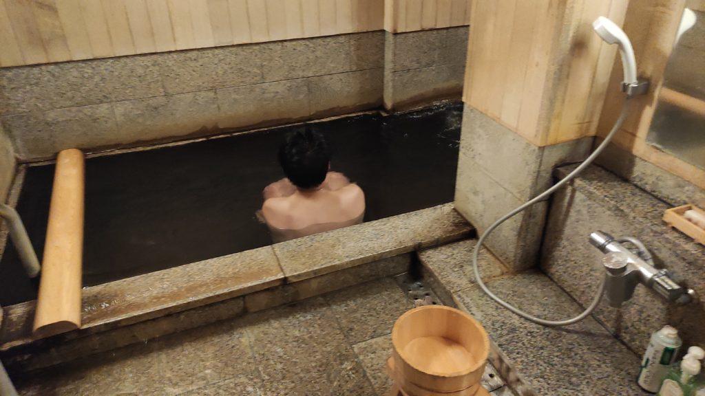 扇屋さんの貸切風呂
