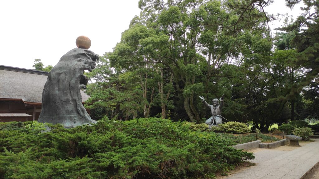 出雲大社結びの御神像