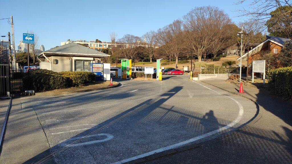 代々木公園の駐車場