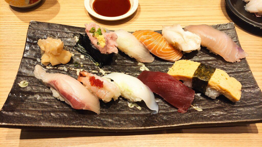 もりもり寿司のにぎり