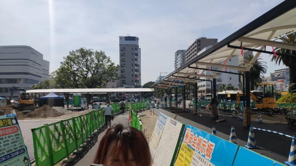 宮崎駅の駐車場
