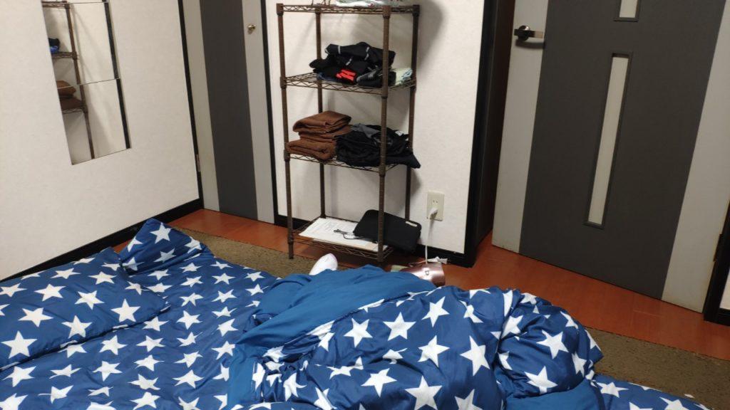 民泊の部屋