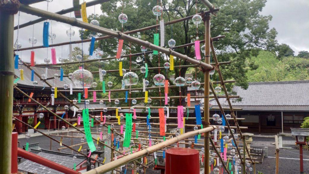 祐徳稲荷神社の風鈴