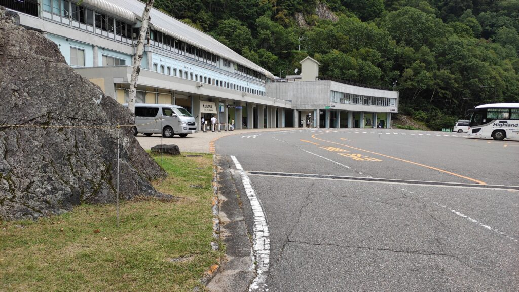 扇沢駅(黒部ダム)