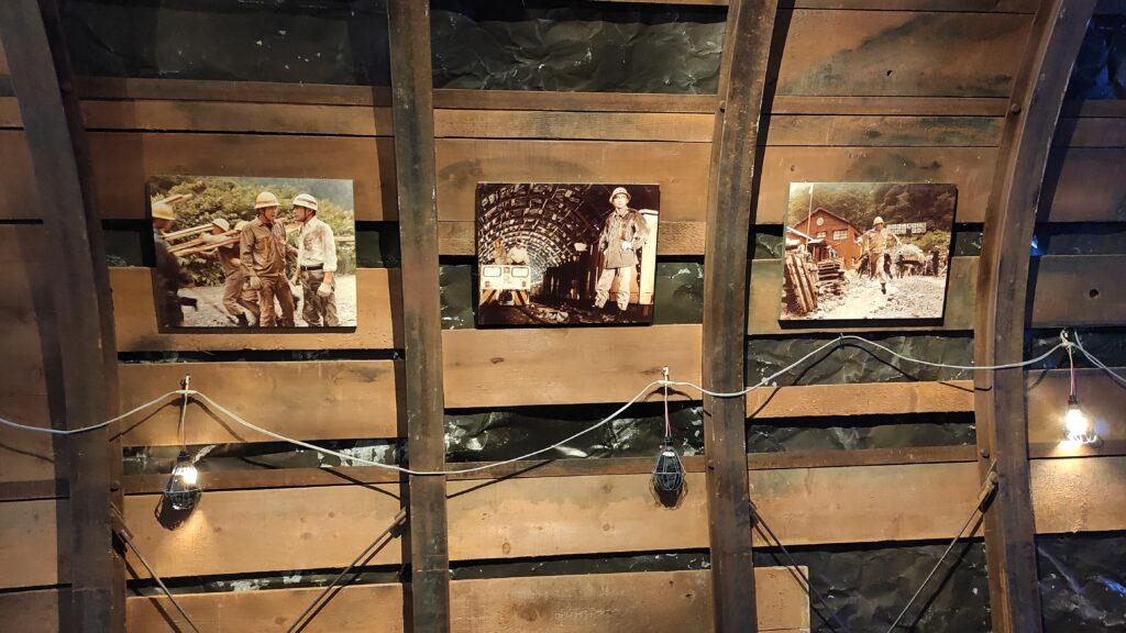 黒部ダムをつくる過程は映画やテレビドラマとなって放送されていました(石原裕次郎)